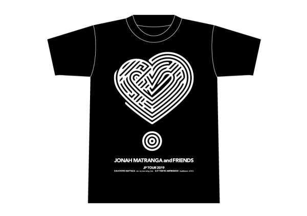 画像1: JONAH MATRANGA JAPAN TOUR 2019 T-SHIRTS (1)